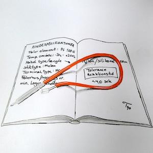 notesbog hvid
